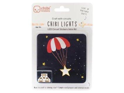 Chibi Tronics - LED CIRCUIT STICKERS INTRO KIT - světýlka do přáníček