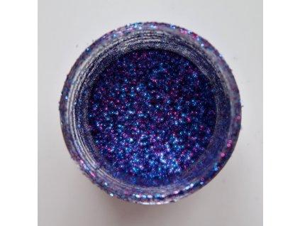 Colourcraft - GLITTER CRYSTALS / INDIGO BLUE - modro fialové glitry