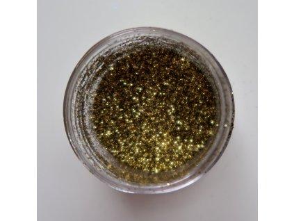 Colourcraft - GLITTER CRYSTALS / GOLD - zlaté glitry
